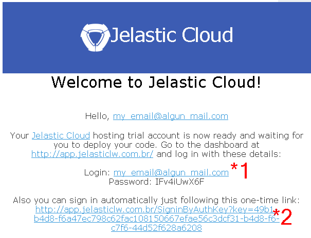 jelastic-email-credentials